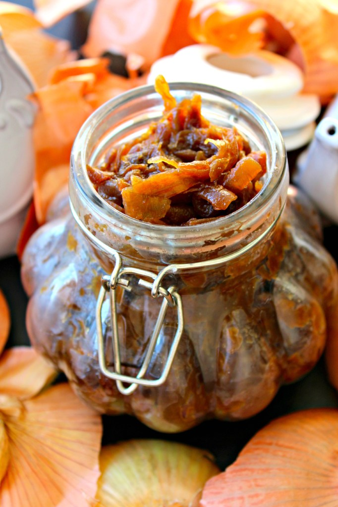 Slow Cooker Caramelized Onions ~ The Complete Savorist
