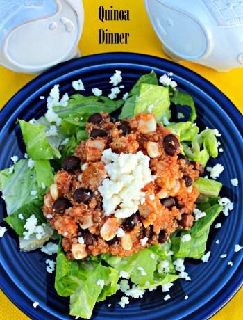 Mexican Quinoa Dinner ~ The Complete Savorist