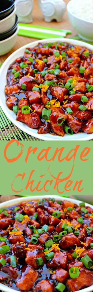 Orange Chicken - Tangy, mildly spicy orange chicken, the classic Chinese-American dish that's better than take out and quicker than delivery.