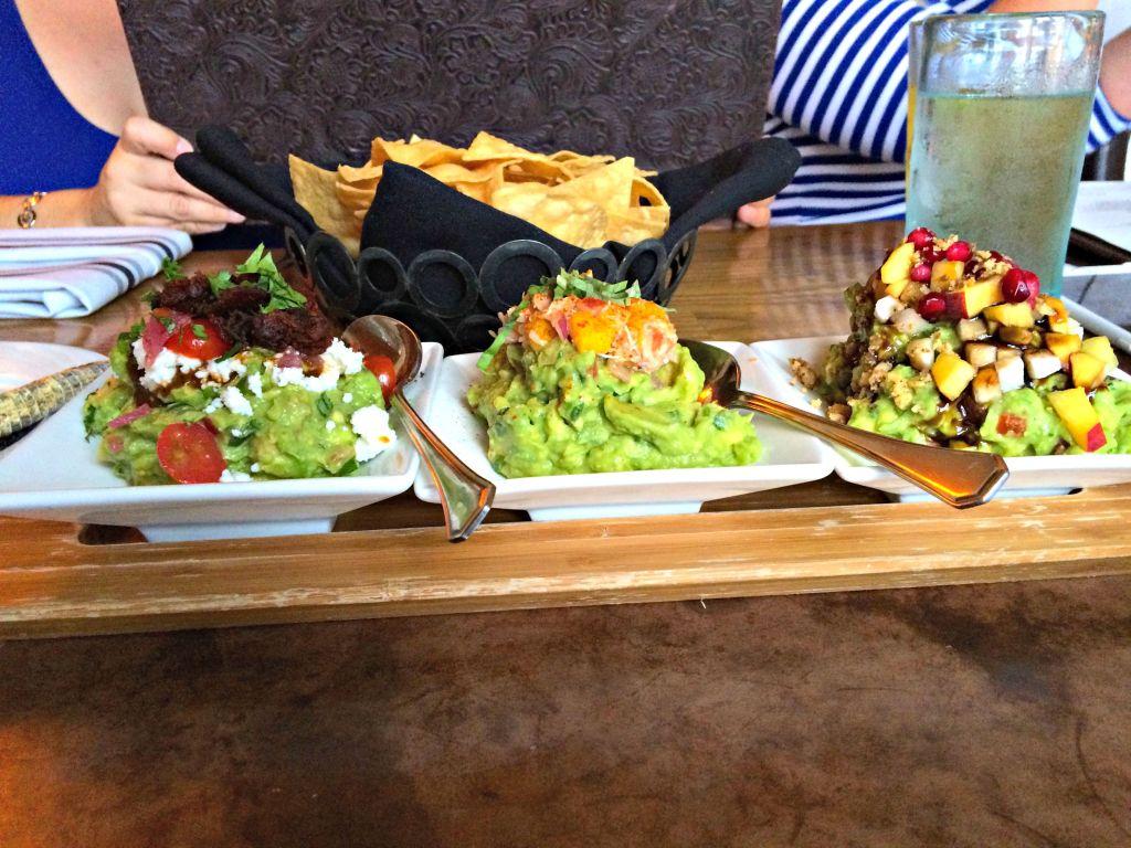 Guacamole Sampler at La Hacienda  ~ The Complete Savorist