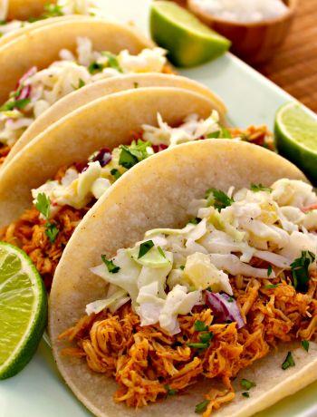 Slow Cooker Pollo Tacos al Pastor ~ The Complete Savorist