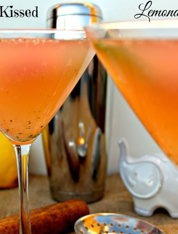 Watermelon Kissed Lemonade Martini ~ The Complete Savorist