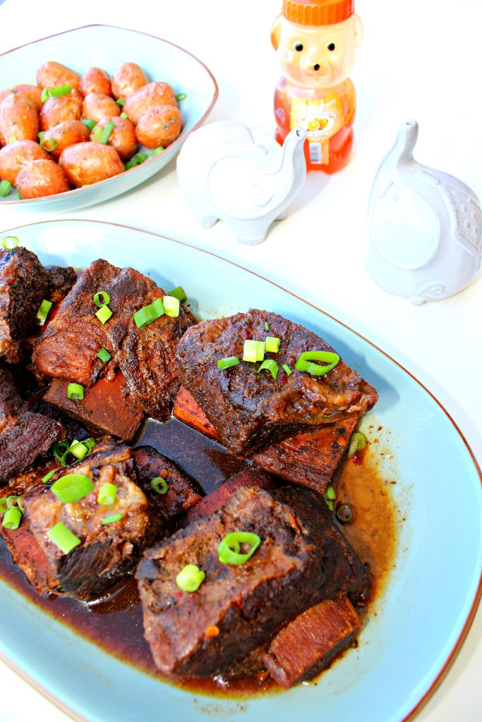 Orange Honey Hoisin Short Ribs ~ The Complete Savorist
