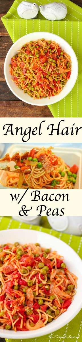Angel Hair With Bacon And Peas The Complete Savorist
