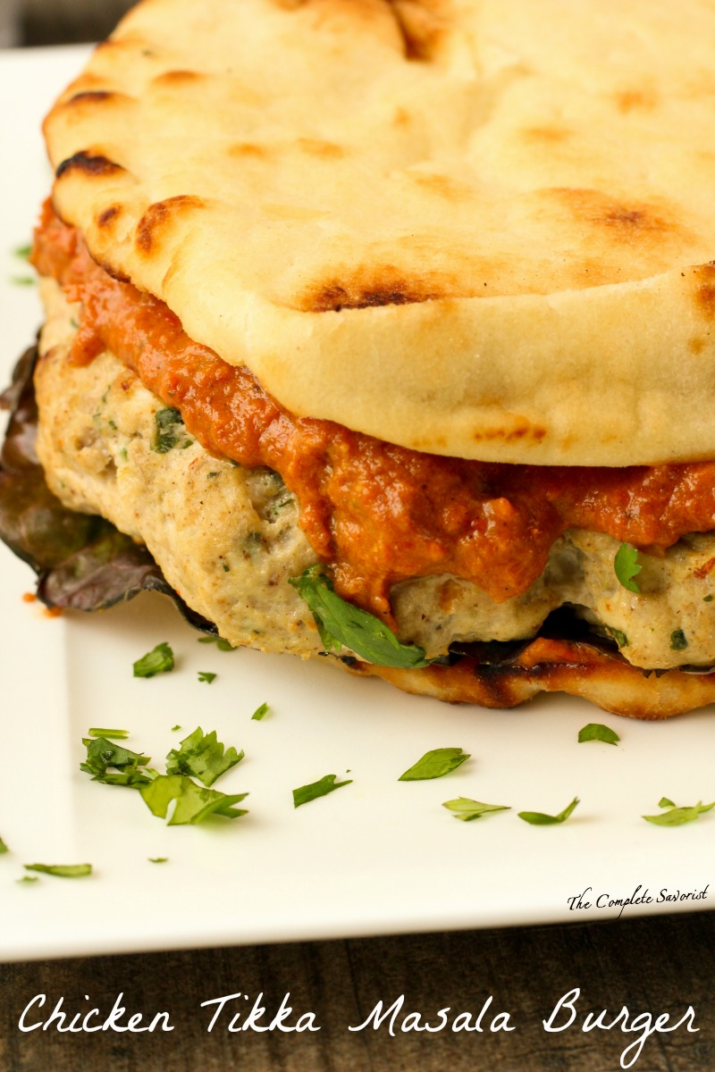 Chicken Tikka Masala Burger