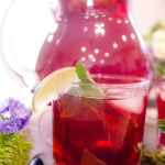 Bourbon Grape Rickey ~ The childhood classic summertime drink of grape juice, lemon-lime soda with a squeeze of fresh lime juice has been given a grown-up make-over by adding bourbon ~ The Complete Savorist by Michelle De La Cerda
