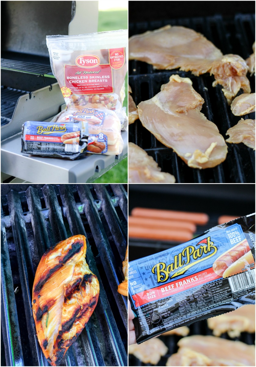 Sweet Tea Brined Grilled Chicken ~ Everyone's favorite white meat brined in sweet tea and grilled to succulent perfection during a causal weeknight night cookout ~ The Complete Savorist by Michelle De La Cerda