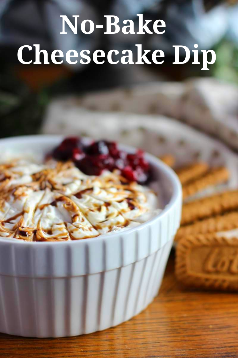 No-Bake Cheesecake Cookie Dip Recipe with Balsamic Drizzle