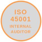 ISO 45001 - INTERNAL AUDITOR