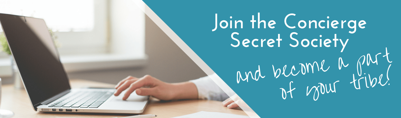 Join the Concierge Secret Society