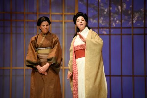 A voice raised to depict Puccini's famous narrative.