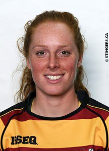 Alexandra Tessier. Photo from Stingers website.