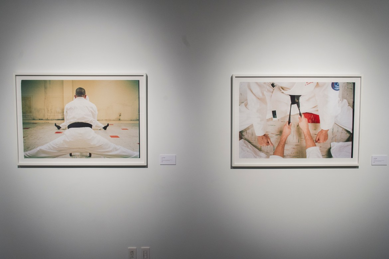 "Justin Kingsley captures two individuals practicing ""katas."" Photo by Andrej Ivanov."