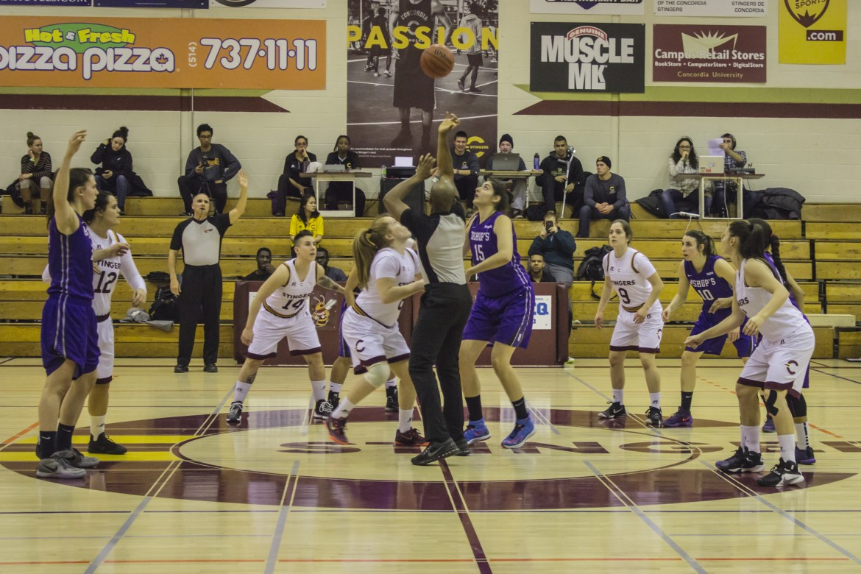 The Stingers women's basketball team won on Feb. 4, 80-51. Photos by Melissa Martella.