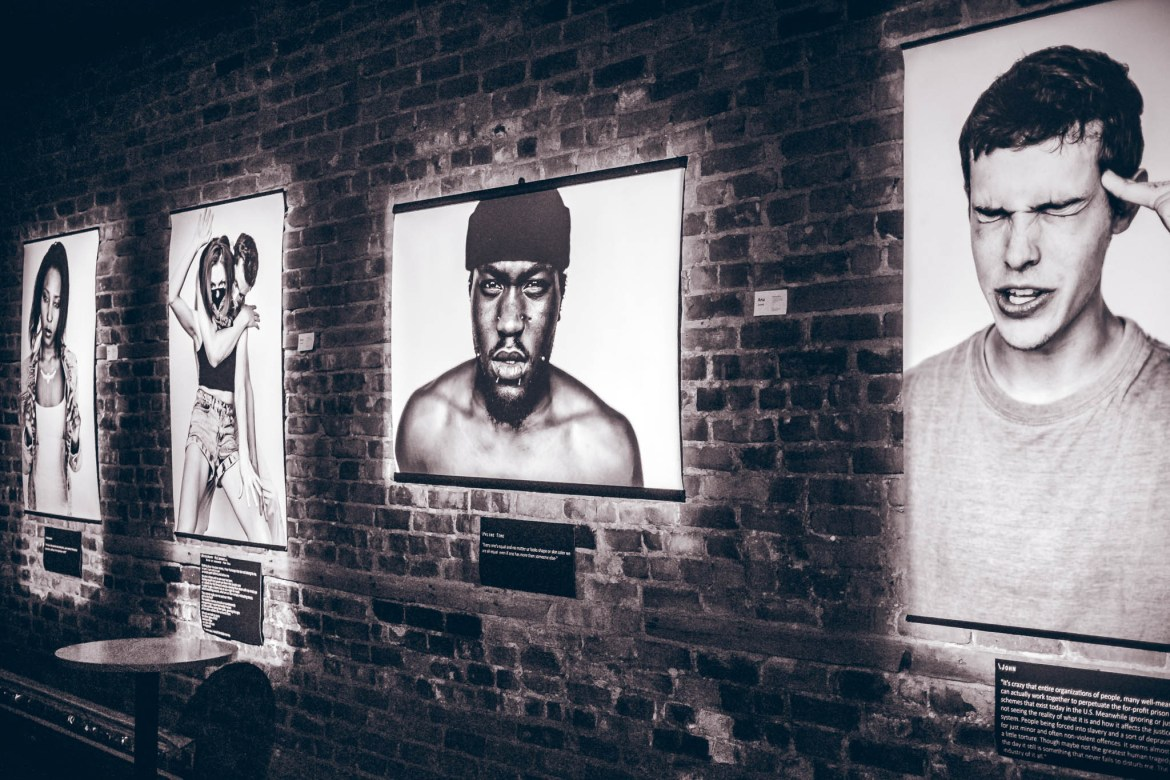 Taken at the vernissage for What's the Problem on Jan. 19 at Théâtre Sainte-Catherine.  Photo by Manikmati Photography.