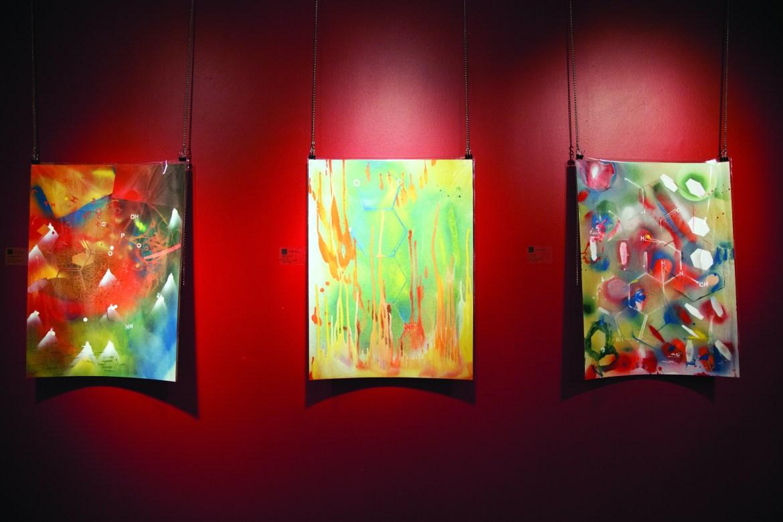 Get a taste of Daniel Plante's Substances, which runs until April 8 at the Montreal Arts Centre. Photo by Marie-Pierre Savard.