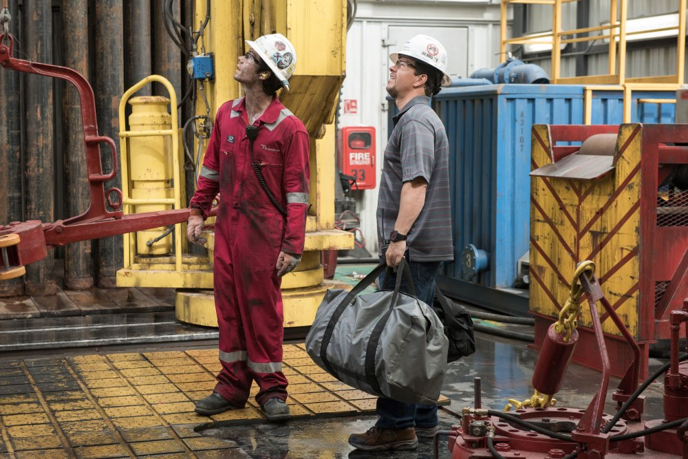 Crew on the Deepwater Horizon had to dodge fireballs and explosions on their way to the lifeboats in order to survive.