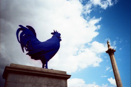 The Fourth Plinth Project in Trafalgar Square attempts to draw in more interest from the public with it's temporary art. Photo from Flickr