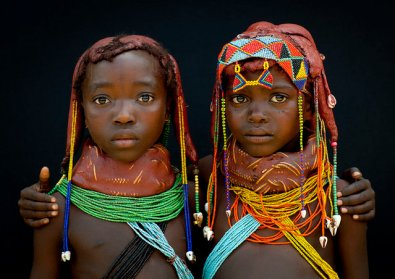 Traditional Angolan Girls