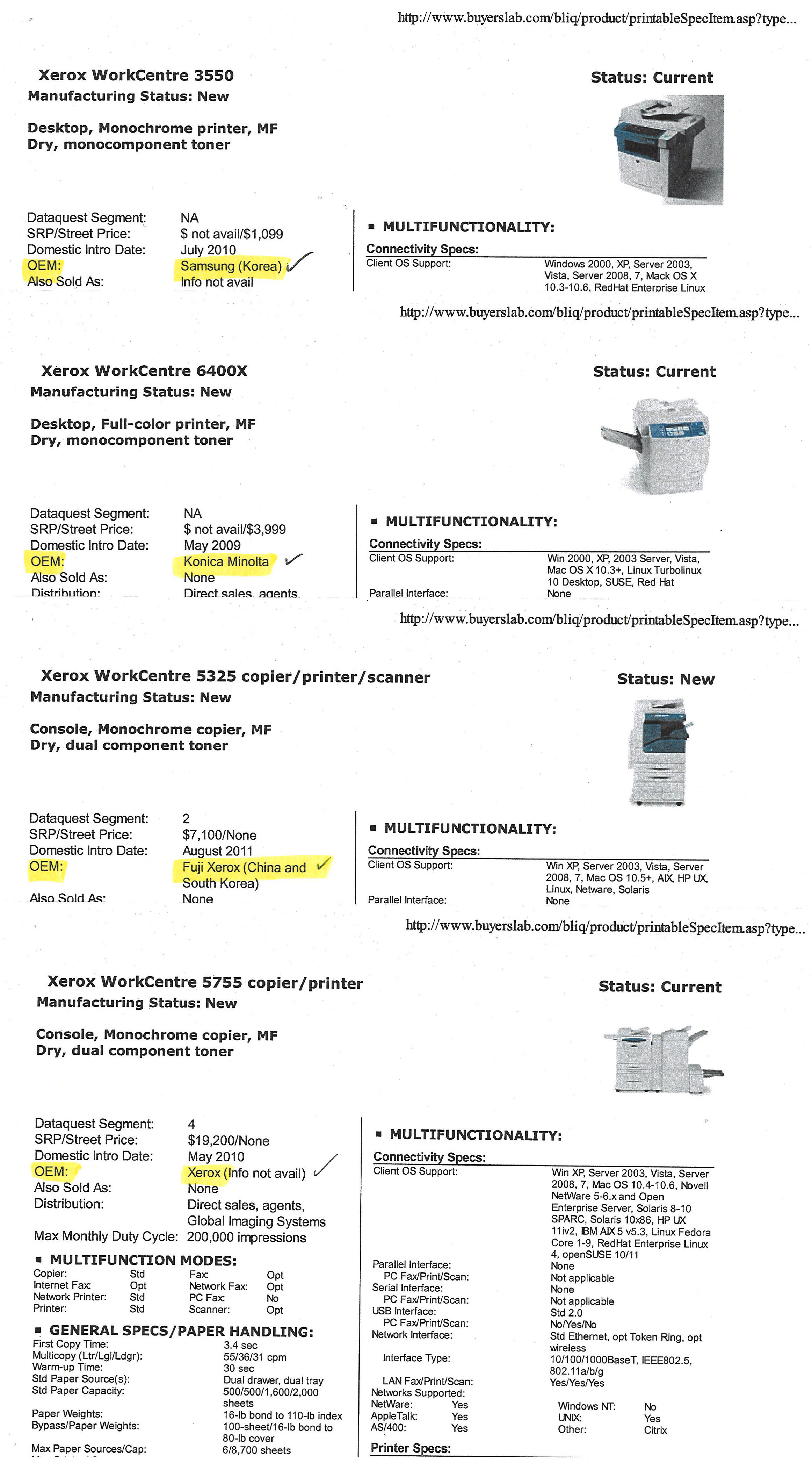 Sample Letter Of Intent To End Copier Lease