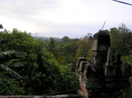 The Bali Sea from Bali's only Buddhist temple