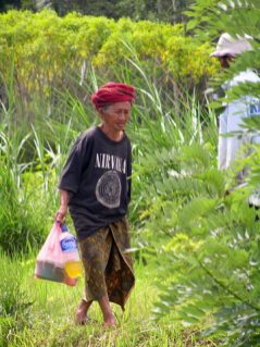 The spirit of Kurt Cobain is alive in central Bali