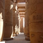 Karnak Temple by day and by night