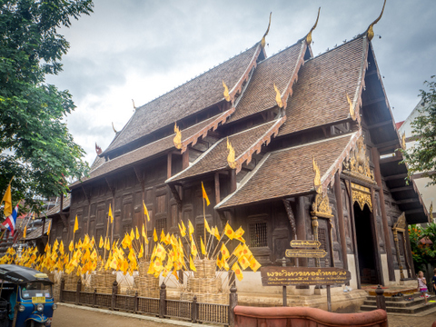A temple in Chiang Mai