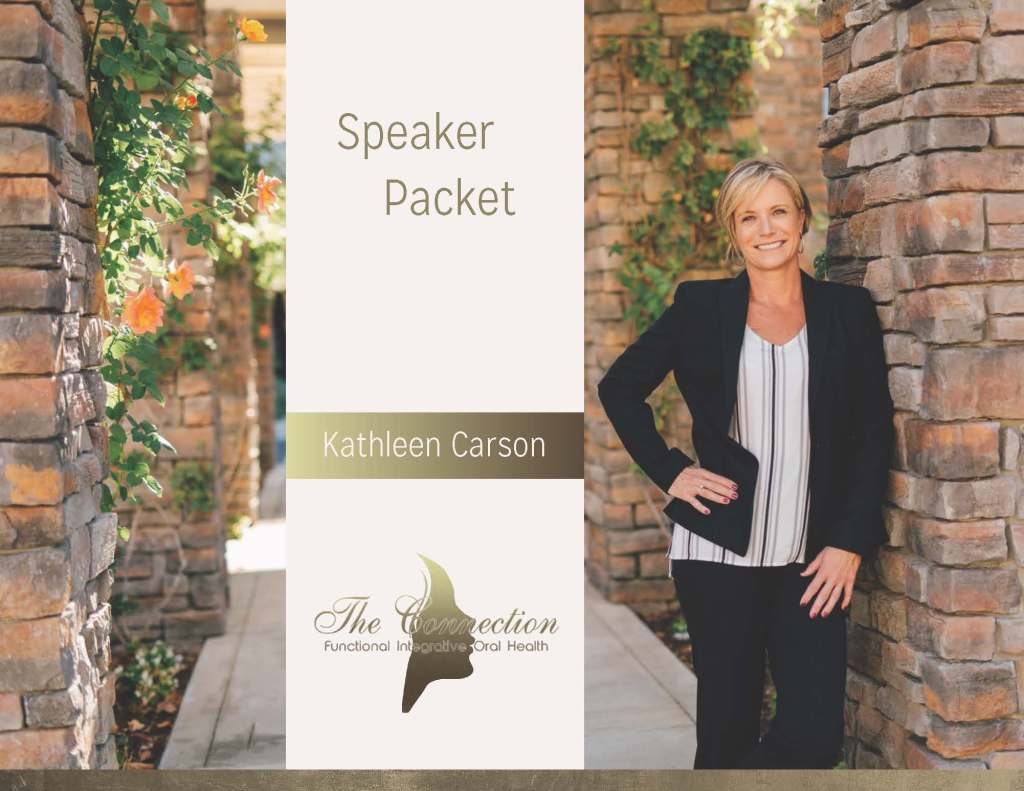 Page 1 Kathleen Carson Speaker Profile