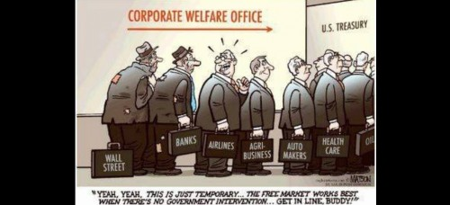 Corporate Welfare line