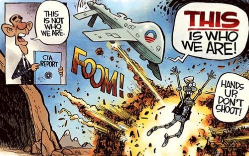 Drone Hypocrisy