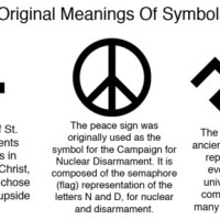 The Left, Hitler, Satanism and the Peace Symbol's Common Heritage