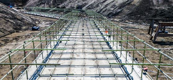 Application for CFRP bars in Reinforced Concrete Elements