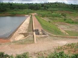 General view of an Earthfill dam