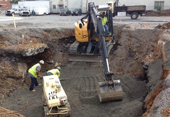 Excavation Procedure for Foundation