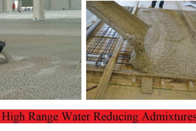 High-Range Water Reducing Admixture for Concrete