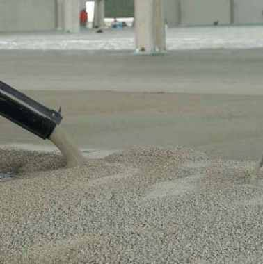 High Range Water Reducing Admixture Added to Concrete
