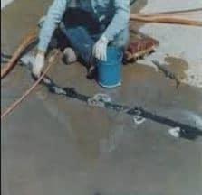 Sealing Cracks between Ports