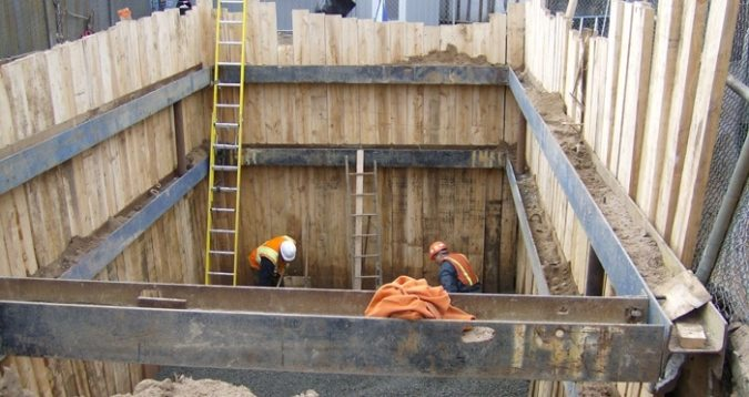 Shoring in Building Construction