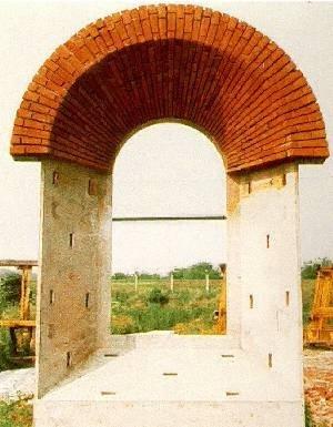Brick faced claddings