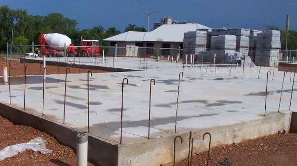 Reinforced Concrete Raft Foundation