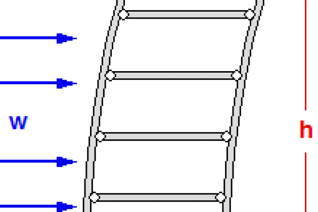 PREVENTING DEFLECTION OF TALL STRUCTURE
