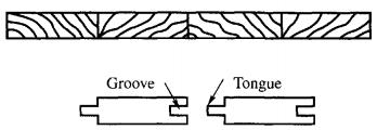 Timber sheet pile