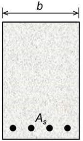 width of rectangular beam