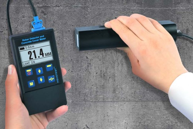 Types of Magnetic Concrete Cover Meter Equipment