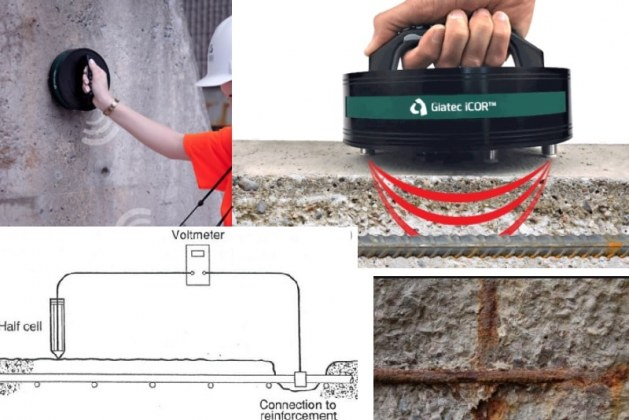 How to Measure Reinforcement Corrosion in Concrete Structures?