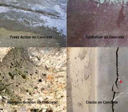 Some Common Causes of Defects in Concrete Structure