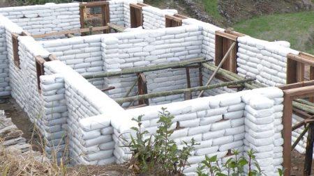Earth Bag Walls