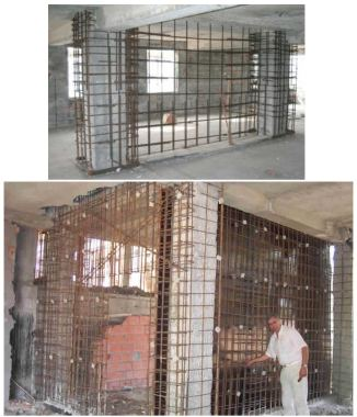 Addition of Reinforced Concrete Shear Walls