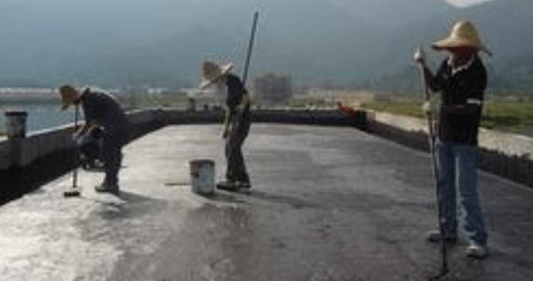 Bituminous Coating Waterproofing Method